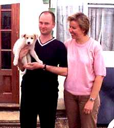Spence with Stuart & Karen